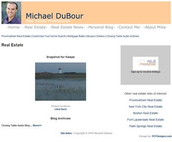Mike DuBour: Real Estate