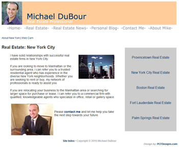 Mike DuBour: Real Estate: New York City