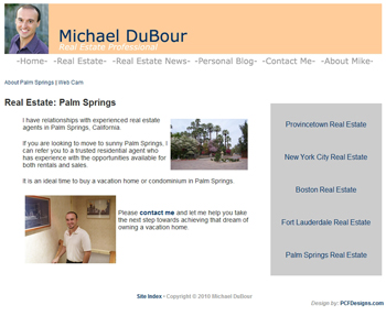 Mike DuBour: Real Estate: Palm Springs